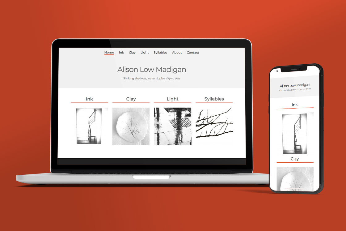 ALM Website design