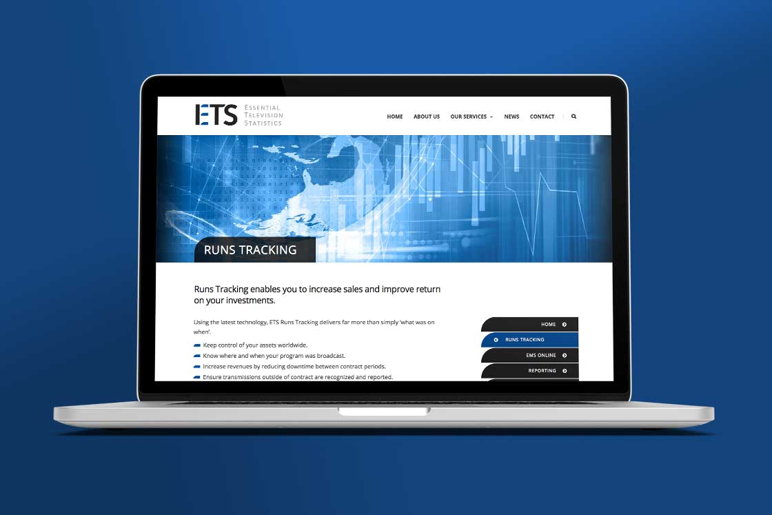 ETS website design page 2