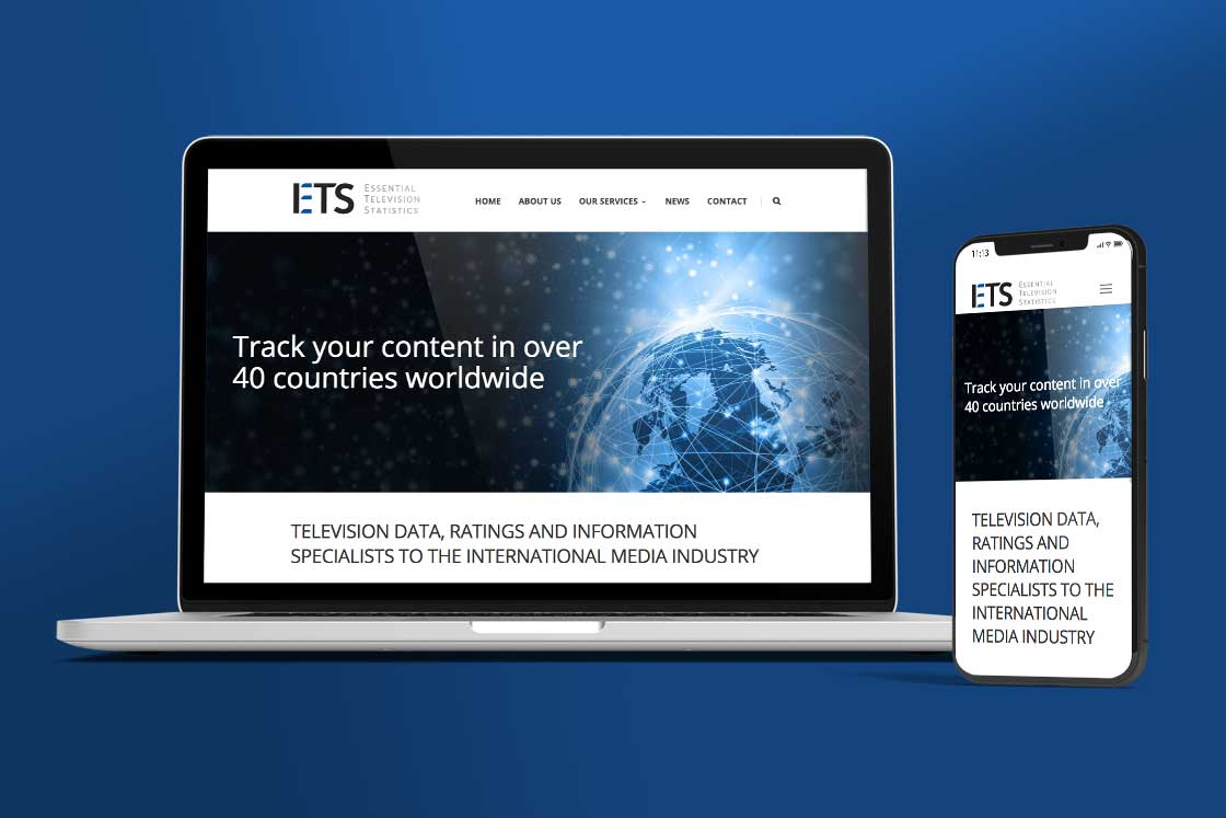 ETS website design