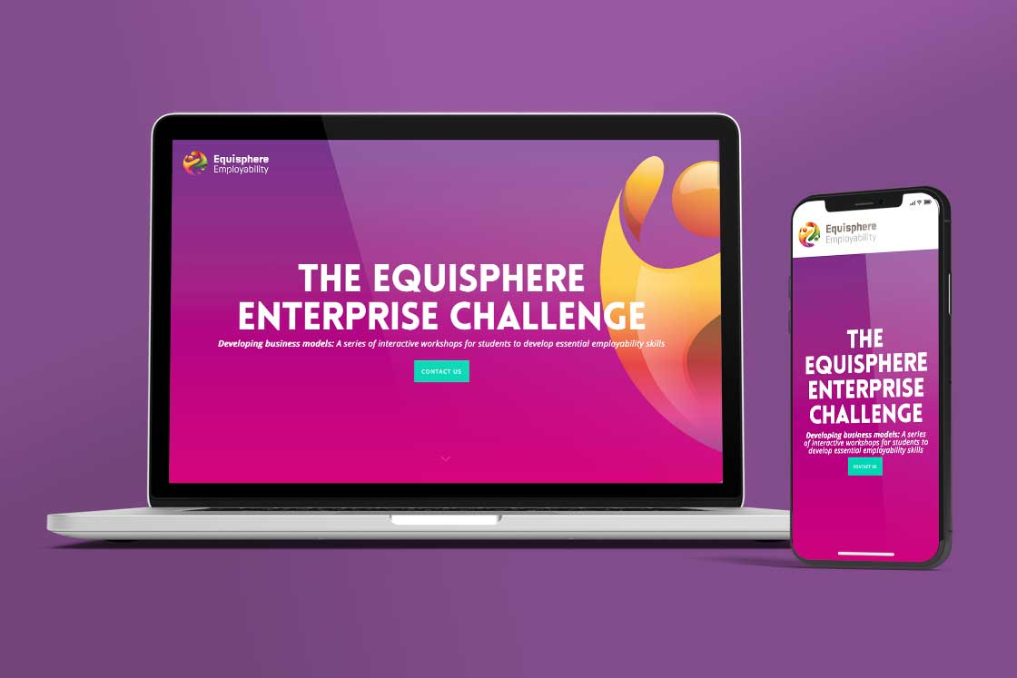 Equisphere website design