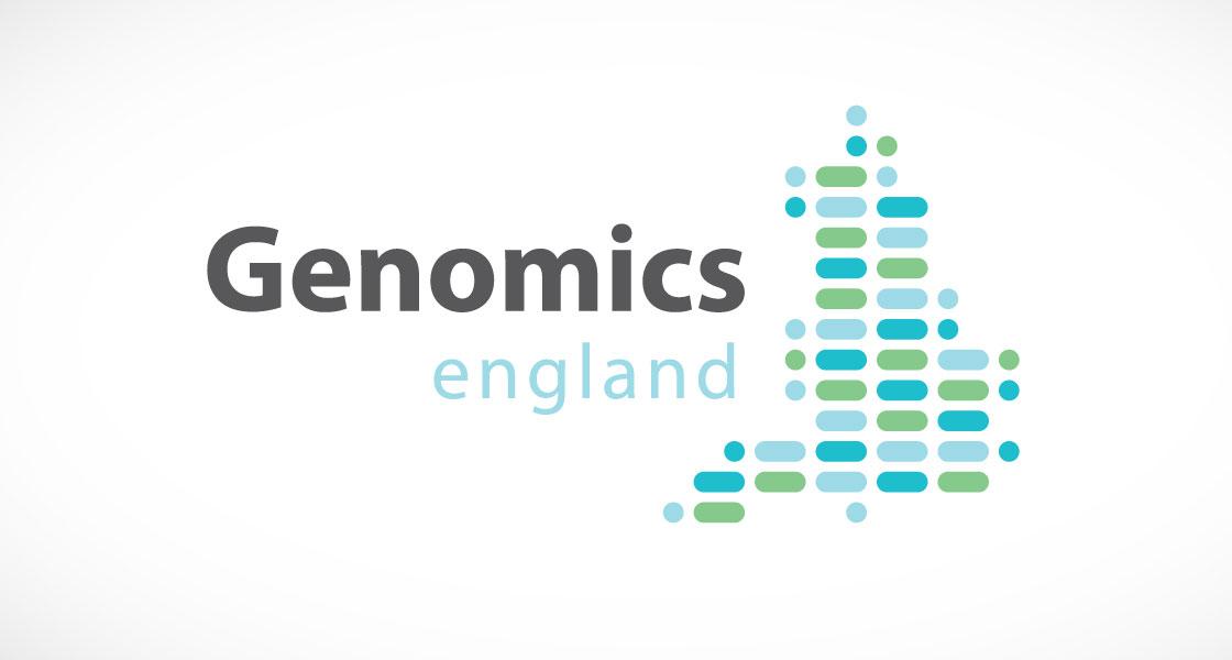 Genomics England logo design