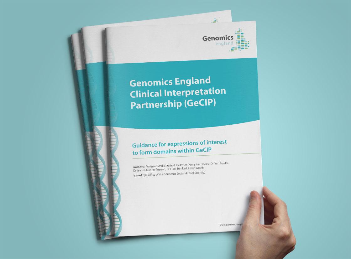 A4 report cover design