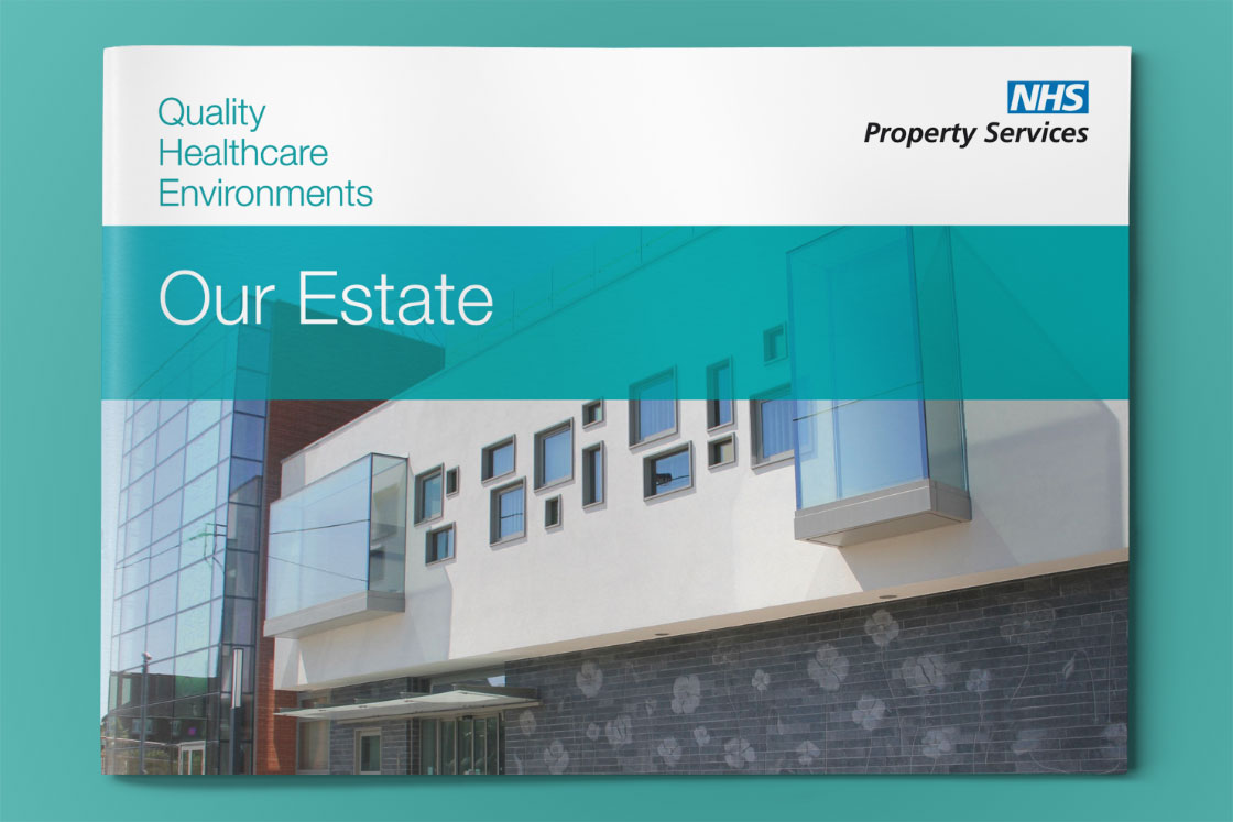 NHS Property Services Estates report design