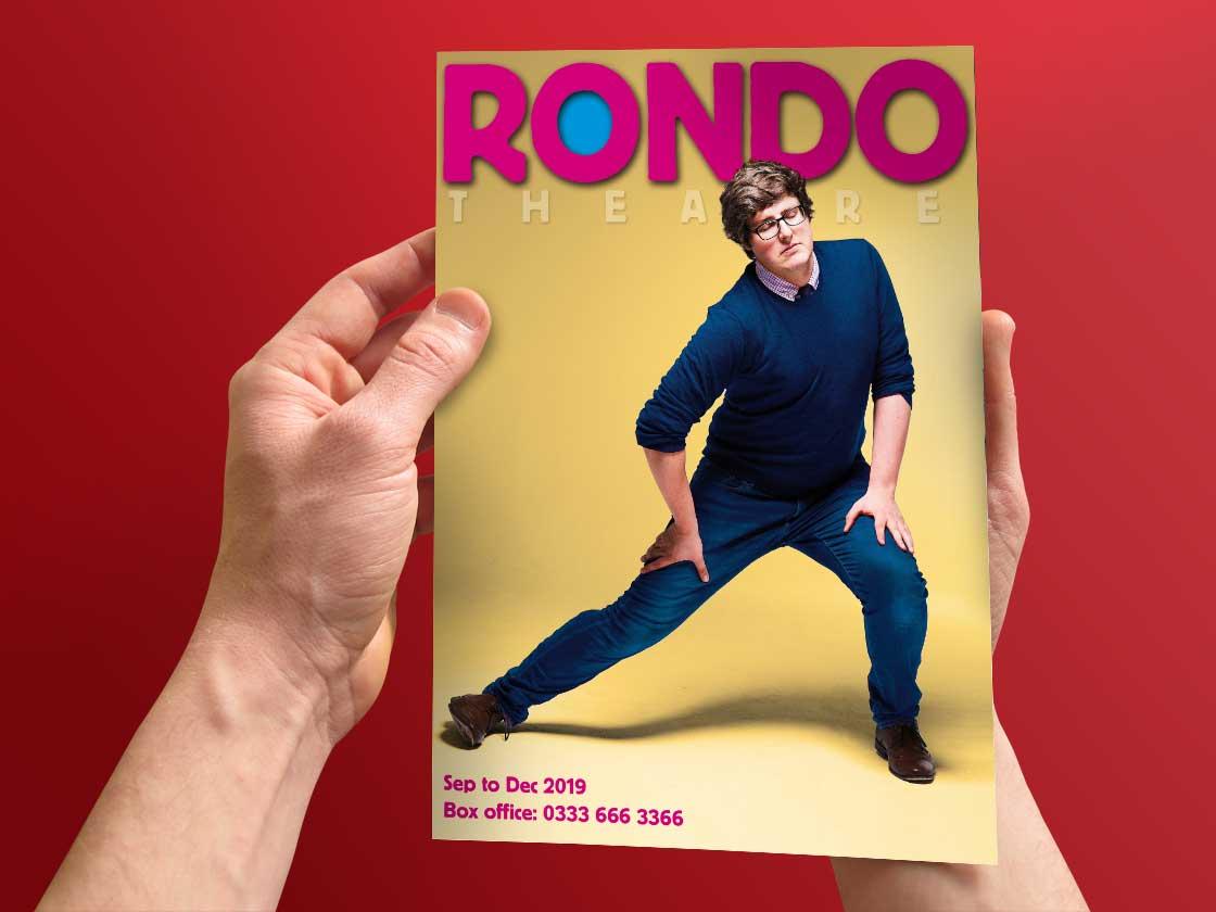 Rondo Theatre Programme Cover design