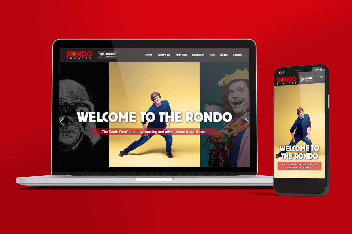 Rondo theatre website design